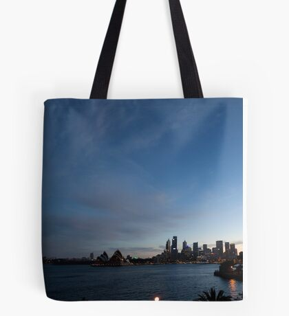 Panorama Of Sydney Harbour Tote Bag
