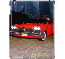 Christine - from the mind of horror writer stephen King iPad Case/Skin