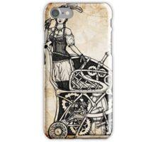 DeLancey St. Underground Bustle Racing iPhone Case/Skin