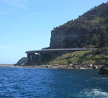 Sea Cliff Bridge by Cameron O'Neill