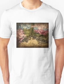 A Walk In The Mystical Woods - Infrared Series Unisex T-Shirt
