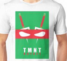 Rafael - TMNT Minimaliste Unisex T-Shirt