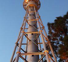 Mc Crae Light House  by John  Remington