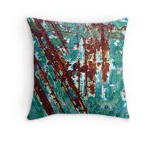 Jazz in Jade Throw Pillow