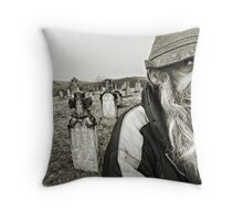 The Cemetary Throw Pillow