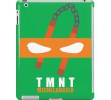 Michelangelo - TMNT Minimaliste iPad Case/Skin