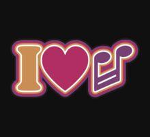 I Love Music One Piece - Long Sleeve