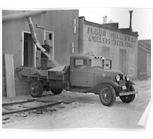 Grain Delivery Truck, 1937 Poster
