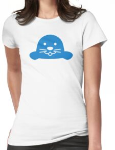 Blue seal head Womens Fitted T-Shirt