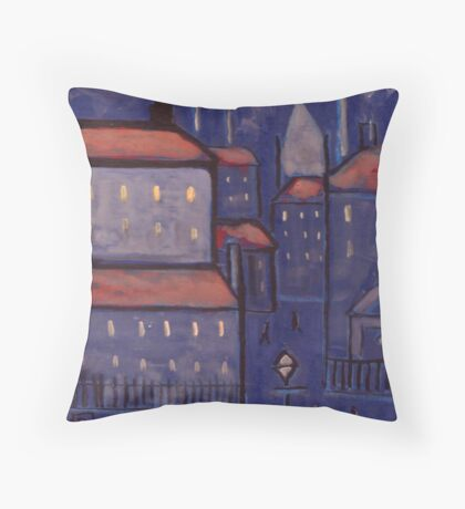 The Lodging House  Throw Pillow