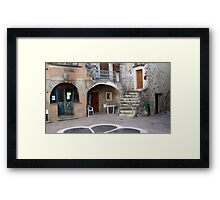 Place Du Four Framed Print