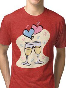 A Toast to Love Tri-blend T-Shirt