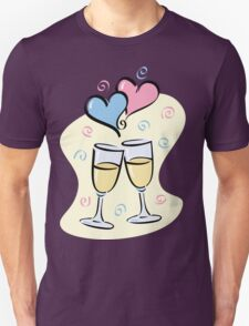 A Toast to Love Unisex T-Shirt
