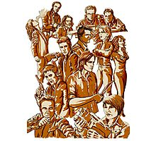 SPN Heroes and villains Photographic Print