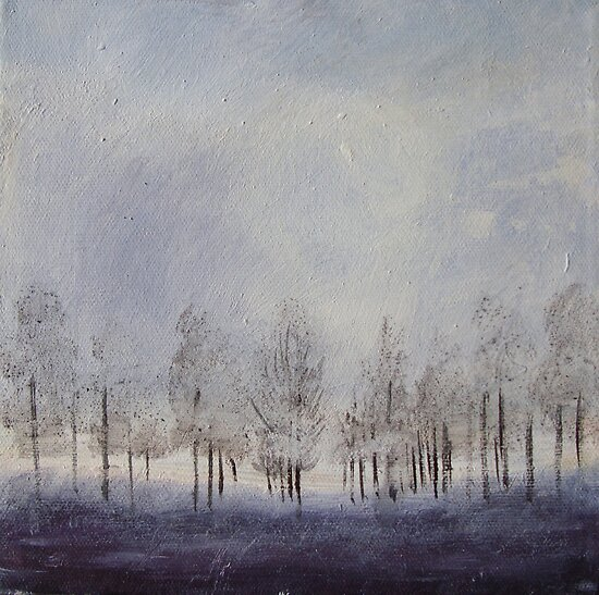 Winter Trees II by Fee Dickson