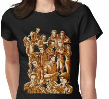 SPN Heroes and villains Womens Fitted T-Shirt