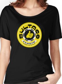 Bultaco (Yellow Black) Women's Relaxed Fit T-Shirt