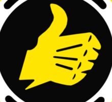 Bultaco (Yellow Black) Sticker