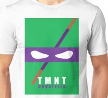 Donatello - TMNT Minimaliste Unisex T-Shirt
