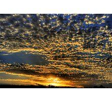 """ Marlo Sunrise  Vic."" Photographic Print"