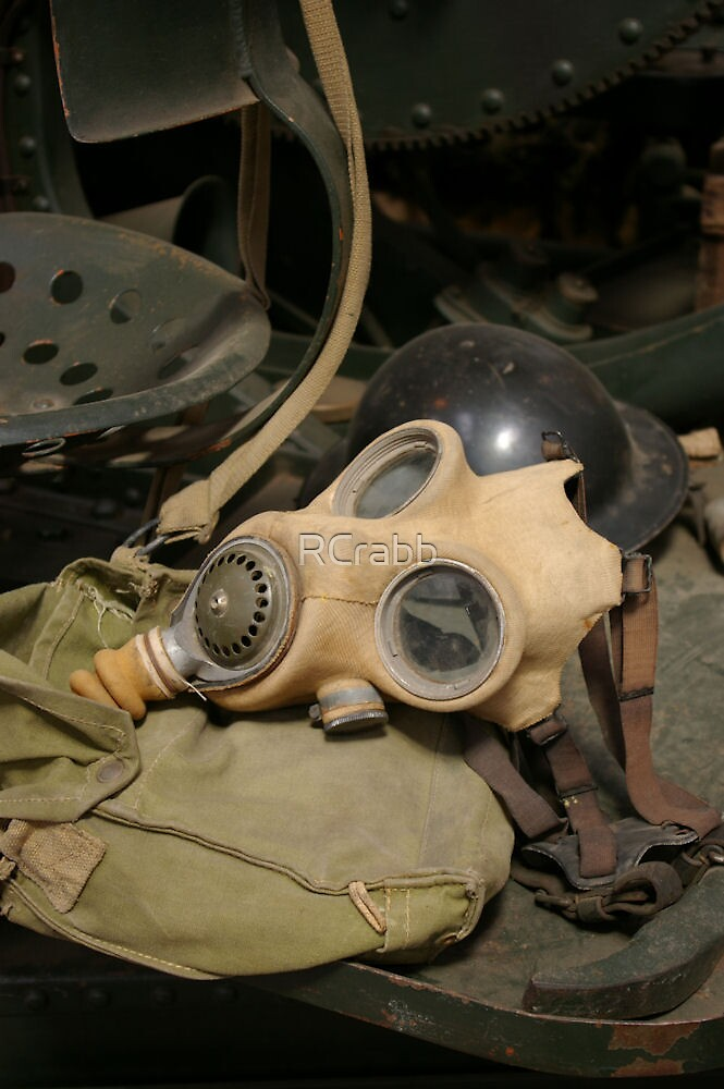 Gas Mask by RCrabb