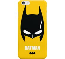 Batman Minimaliste iPhone Case/Skin