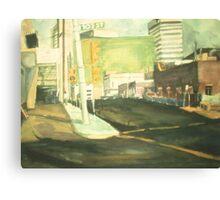 105 ST EDMONTON, ALBERTA(C1985) Canvas Print