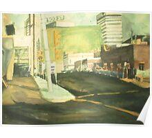 105 ST EDMONTON, ALBERTA(C1985) Poster
