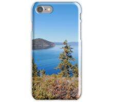 Lake Tahoe Viewed From Eagle Point iPhone Case/Skin