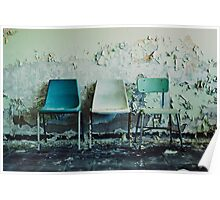 3 Chairs Poster