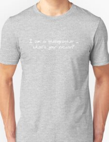 Photographer Tee ~ No 1 Unisex T-Shirt