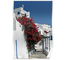 Gorgeous Santorini Poster