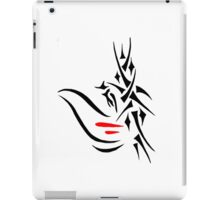 tribal jesus iPad Case/Skin