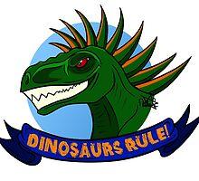 Dinosaurs Rule! by NdeLange