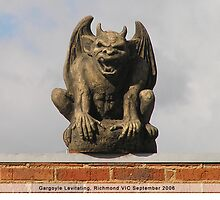 Gargoyle, Levitating by Susie Raine