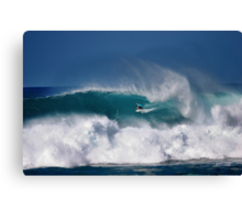 Dusty Payne At Vans Triple Crown of Surfing 2008 Canvas Print