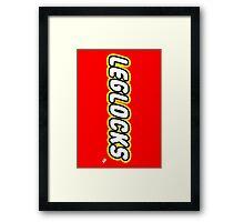 Leglocks BJJ Framed Print