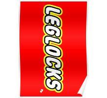 Leglocks BJJ Poster