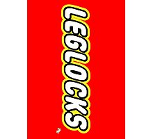 Leglocks BJJ Photographic Print