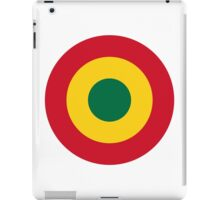 Ghana Air Force - Roundel iPad Case/Skin