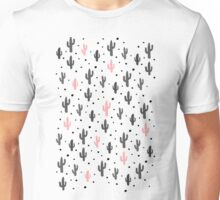 Pink Cactus Unisex T-Shirt