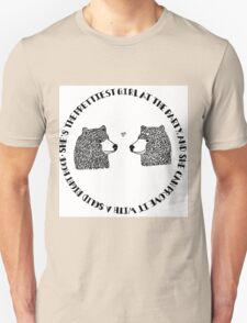She's the Prettiest Girl at the Party - Bears Unisex T-Shirt
