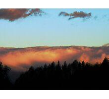 Sunrise in Ciudad Colon Photographic Print