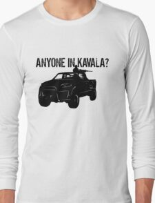 ANYONE IN KAVALA - Arma 3 Long Sleeve T-Shirt