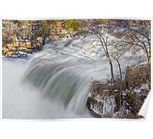 Raging Upper Cataract Falls Poster