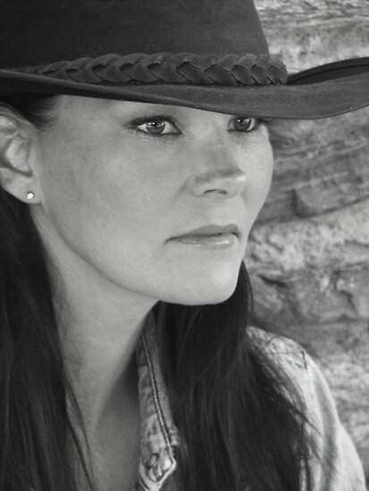 Bonnie In Black And White #3 by Susan Bergstrom