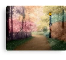 A Walk In The Park - Infrared Series Canvas Print