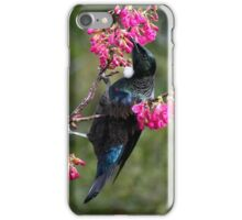 Tui.......lost among the blooms......! iPhone Case/Skin