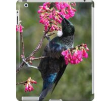 Tui.......lost among the blooms......! iPad Case/Skin