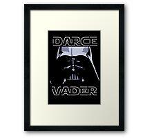 Darce Vader Framed Print